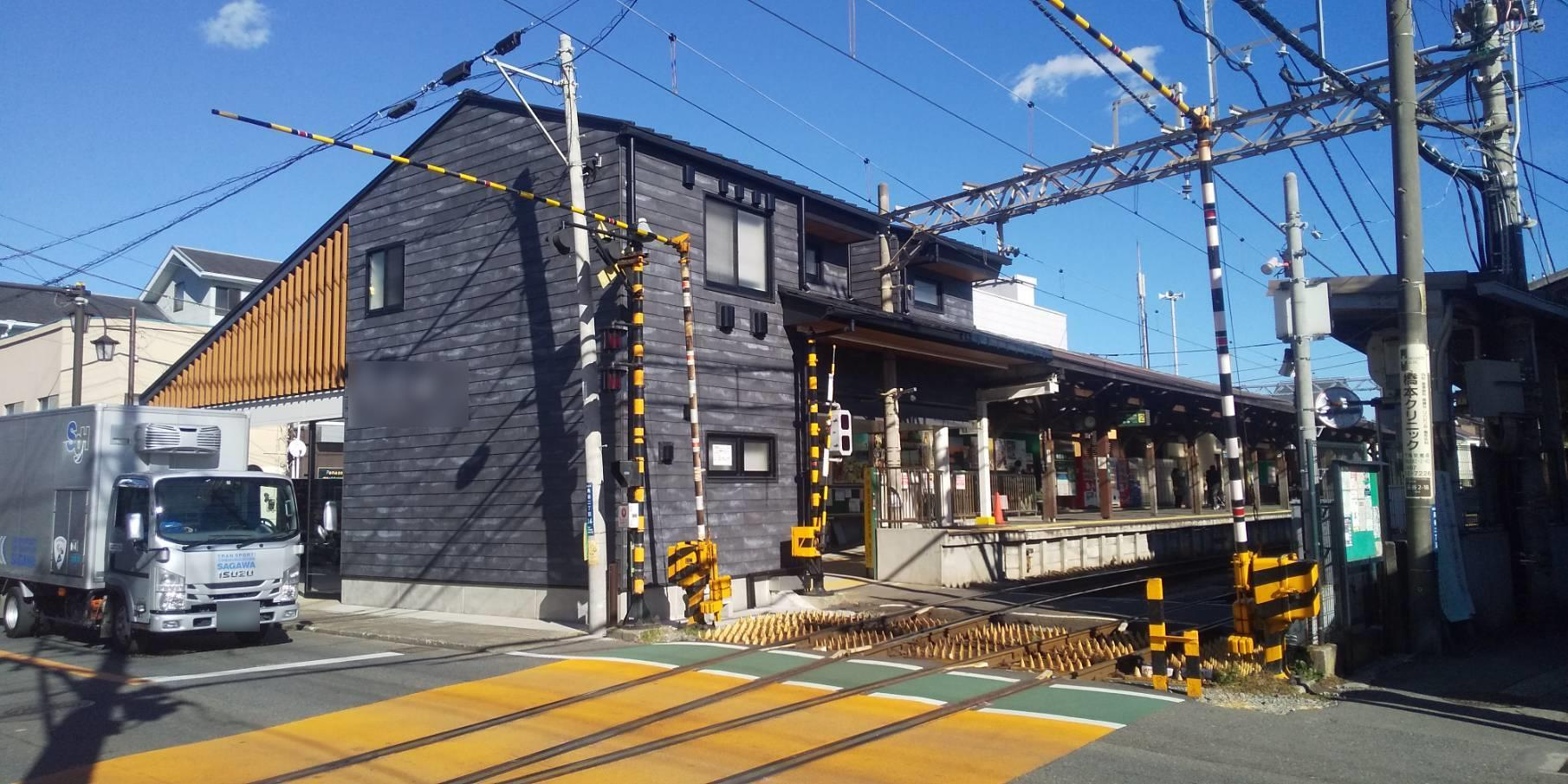 【施工実績】江ノ電某駅の外壁塗装及び継目シールの打ち換え