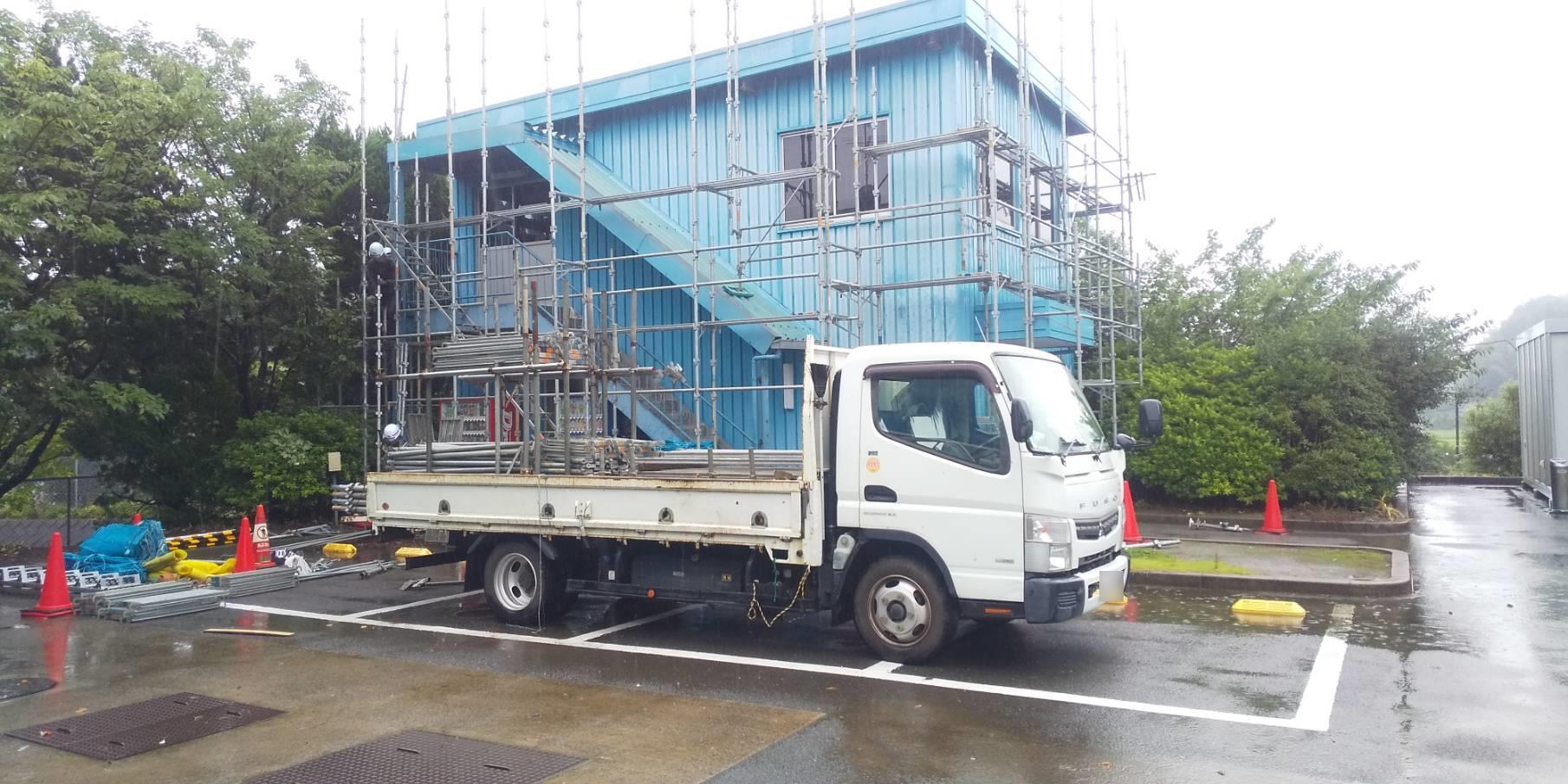 【施工実績】ジェコス大栄工場の事務所棟 塗り替え工事